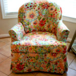 Slipcovers Vs. Upholstery Blog Floral Chair