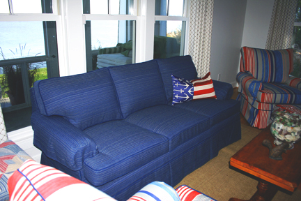 Slipcovers Vs. Upholstery Blog Blue Sofa