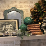 Holiday Decorating Mantle