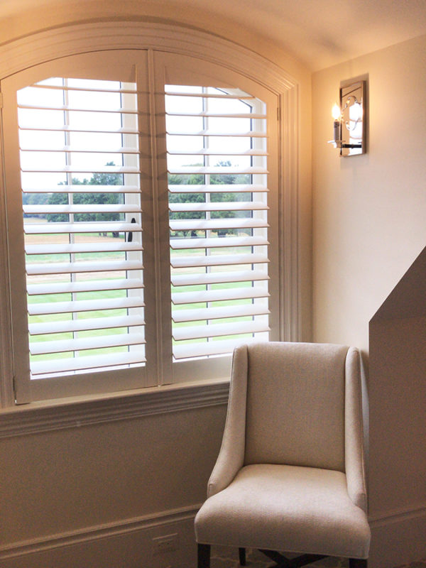 Royal Oak Shutters and Chair