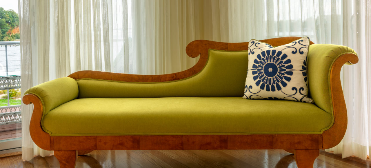 Green Chaise