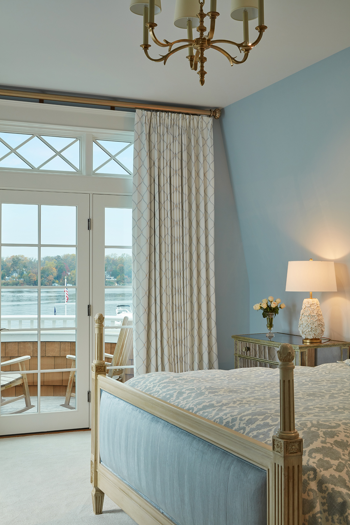 Sew Beautiful Ferry Point Bedroom
